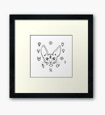 Cosmic Kitty Framed Print