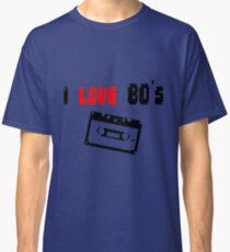 i love 80's - Tape - Pixelart Classic T-Shirt