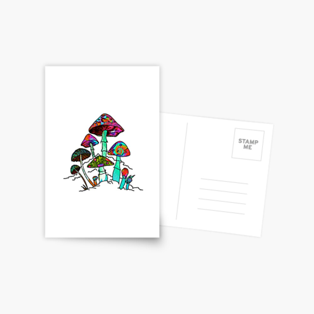 "Garden of Shroomz | ""Field Trip"" Edition Postcard"