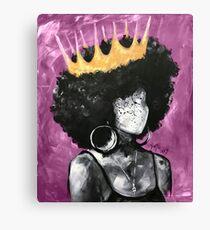 Natürlich Queen II PINK Leinwanddruck