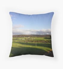 West Australian countryside Throw Pillow