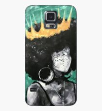 Naturally Queen II TEAL Case/Skin for Samsung Galaxy