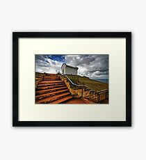 Tacking Point lighthouse. Framed Print