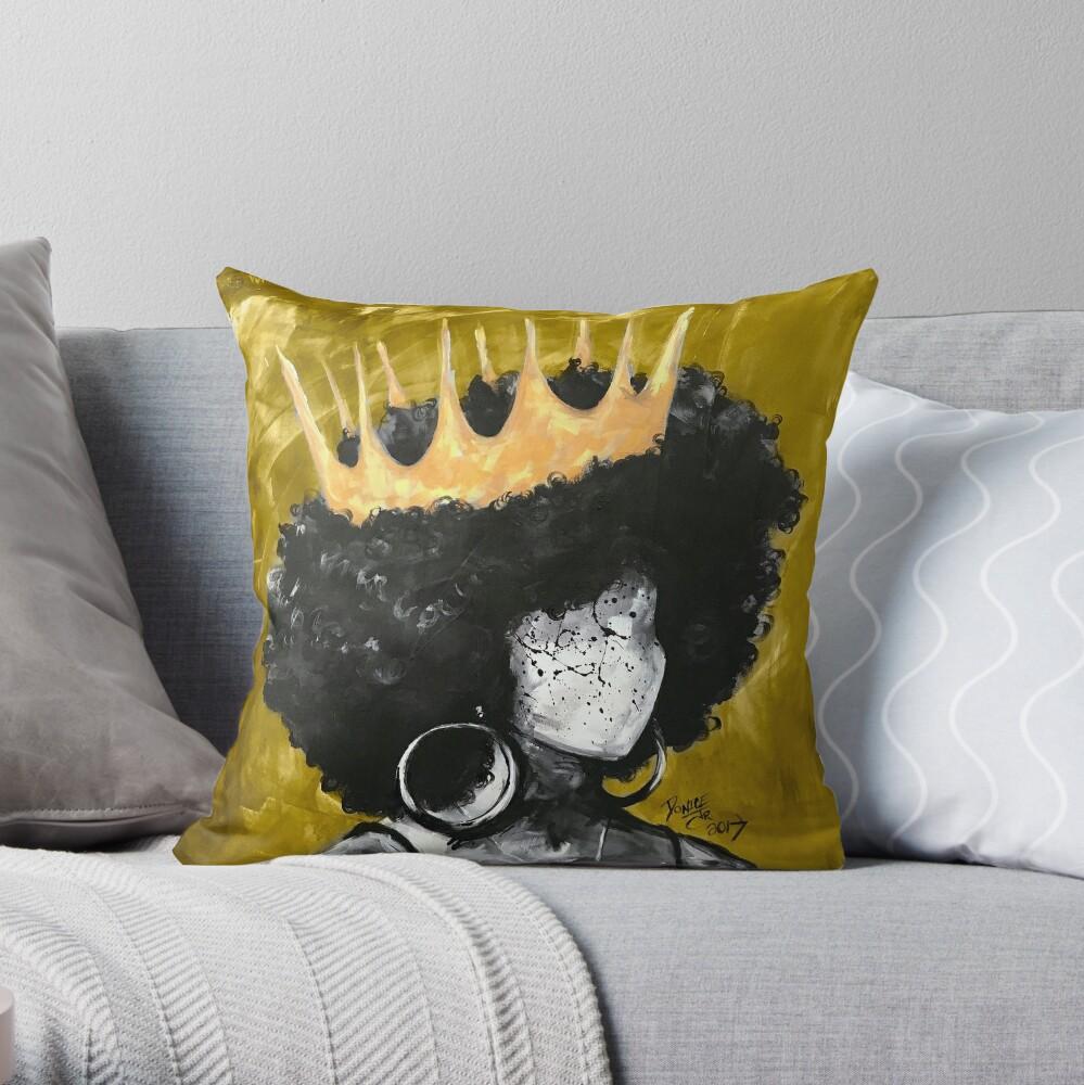 Natürlich Königin II GOLD Dekokissen