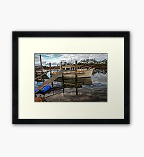 River reflections. Framed Print