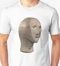 Low Poly Meme Man Unisex T-Shirt