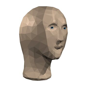Low Poly Meme Man by baba-ganoush
