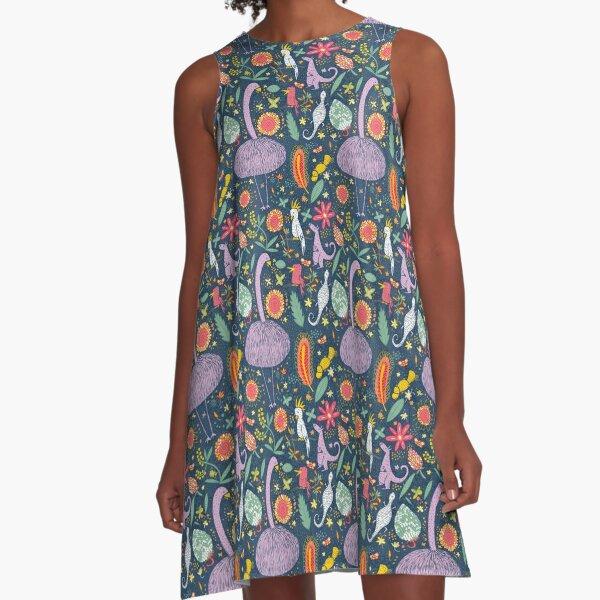 Austrailan flora and fauna A-Line Dress
