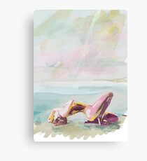 Ecstasy by the Sea  Canvas Print