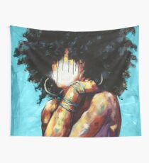 Naturally II BLUE Wall Tapestry