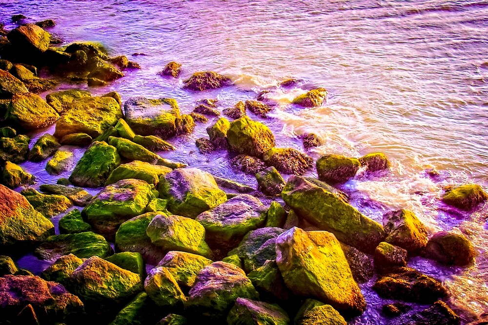 Water on the Rocks by Helenartathome