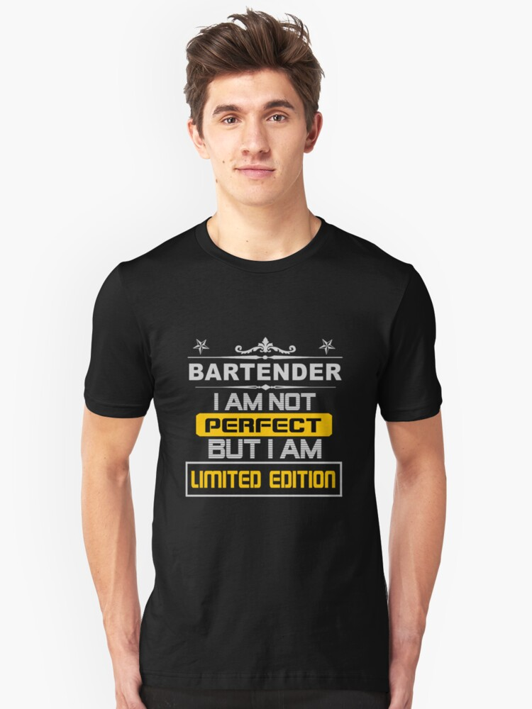 BARTENDER LIMITED EDITION Unisex T-Shirt Front