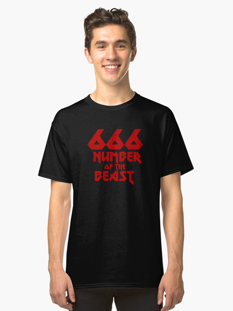 Number of the Beast  Classic T-Shirt Front