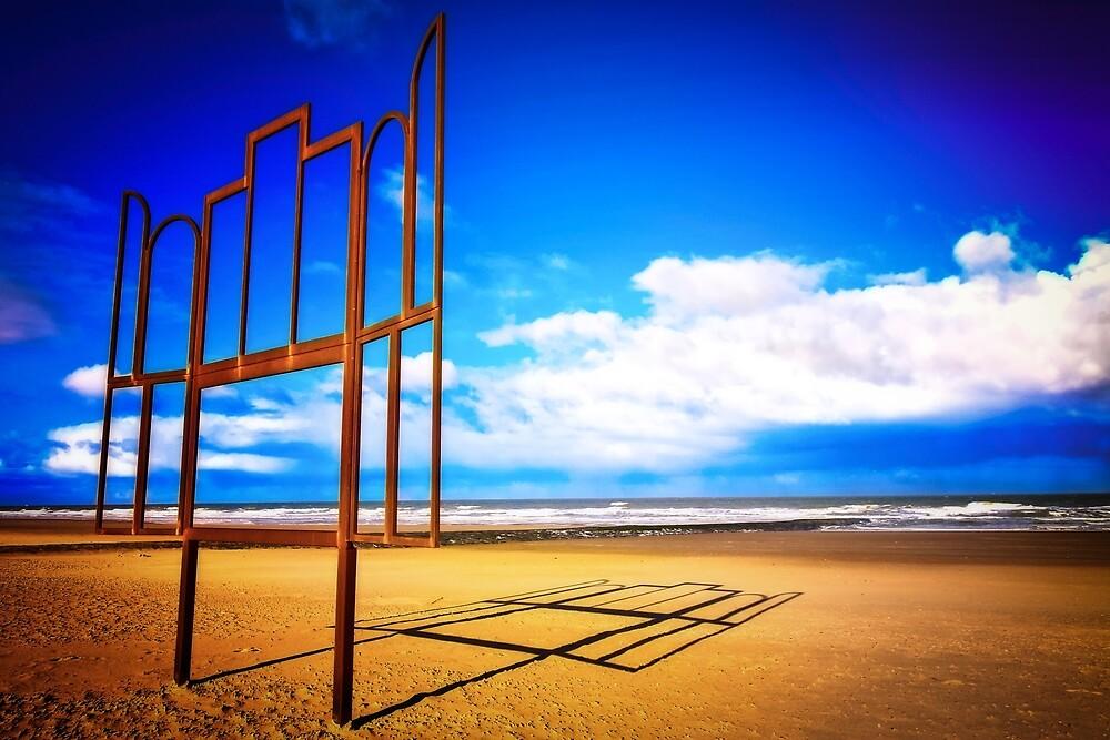 Beach Art by Helenartathome