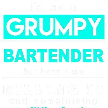 BARTENDER GRUMPY by casanovajackie