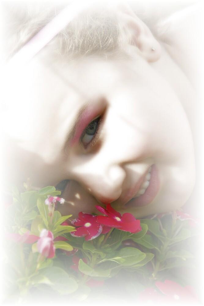 Flower child by Deidre Cripwell