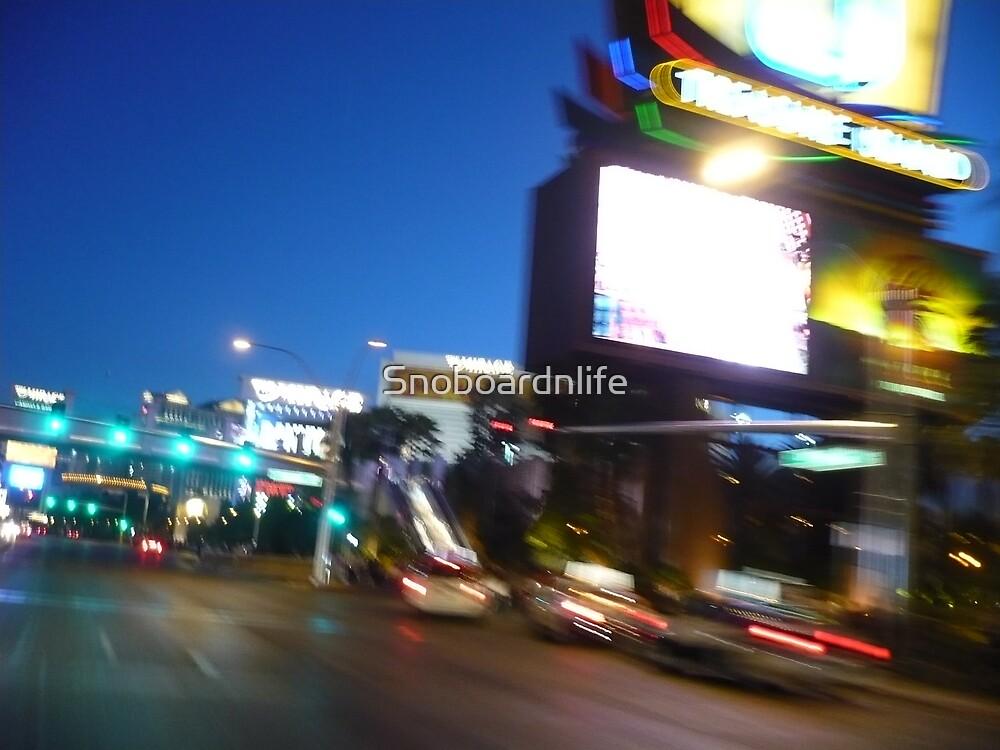 Driving On Las Vegas Blvd by Snoboardnlife