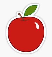 Applemania (red) Sticker