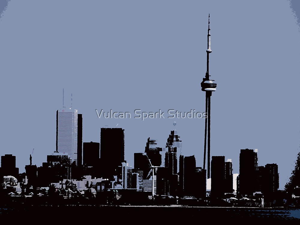 CN Tower 2 by Vulcan Spark Studios
