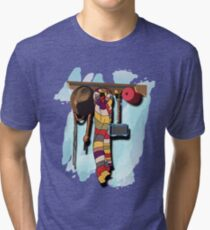 GUESS WHO'S COMING DINNER???  Tri-blend T-Shirt