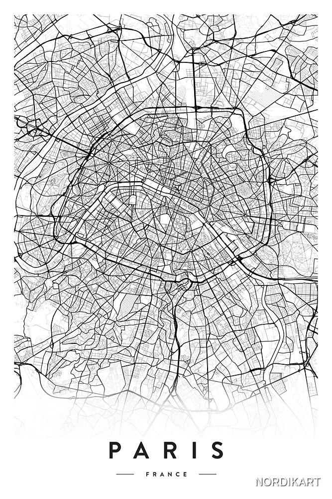 PARIS CITY MAP by NORDIKART