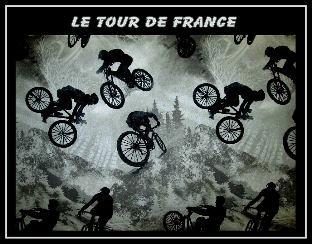 LE TOUR DE FRANCE: Magical Moments Advertising Print by posterbobs