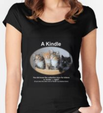 A Kindle Fitted Scoop T-Shirt