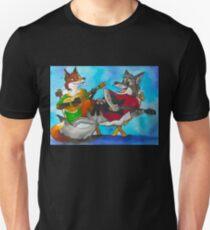 Timberwolf & Bree-Fox T-Shirt