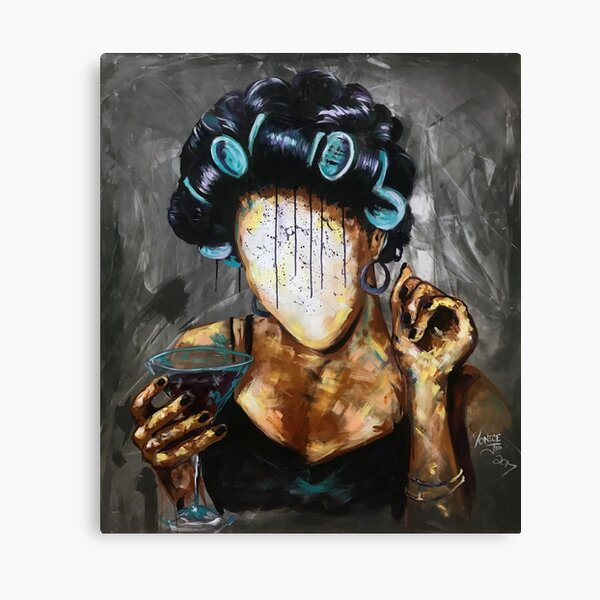 Undressed X Canvas Print