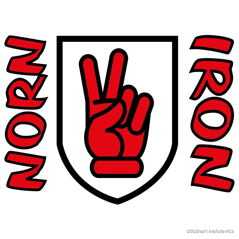 Norn Iron -- Red Hand of Ulster -- V-Sign by stíobhart matulevicz