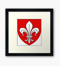 Lille coat of arms Framed Print