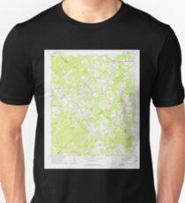 USGS TOPO Map Georgia GA Bold Springs 245089 1964 24000 Unisex T-Shirt
