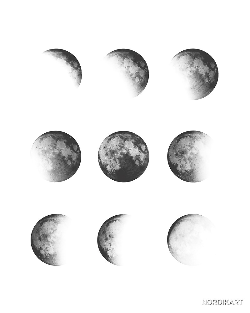 MOON PHASES DESIGN by NORDIKART