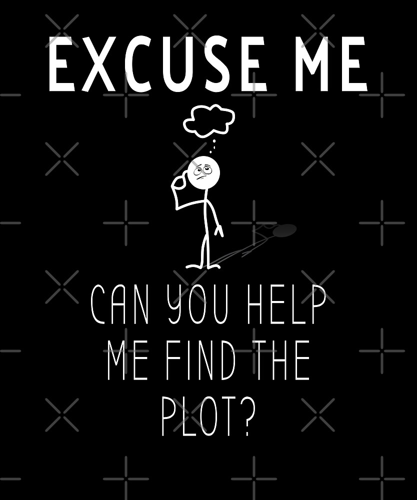 Help Me Find The Plot by Stacey Moore