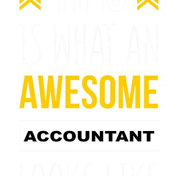 ACCOUNTANT AWESOME LOOK LIKE by khongiandientu