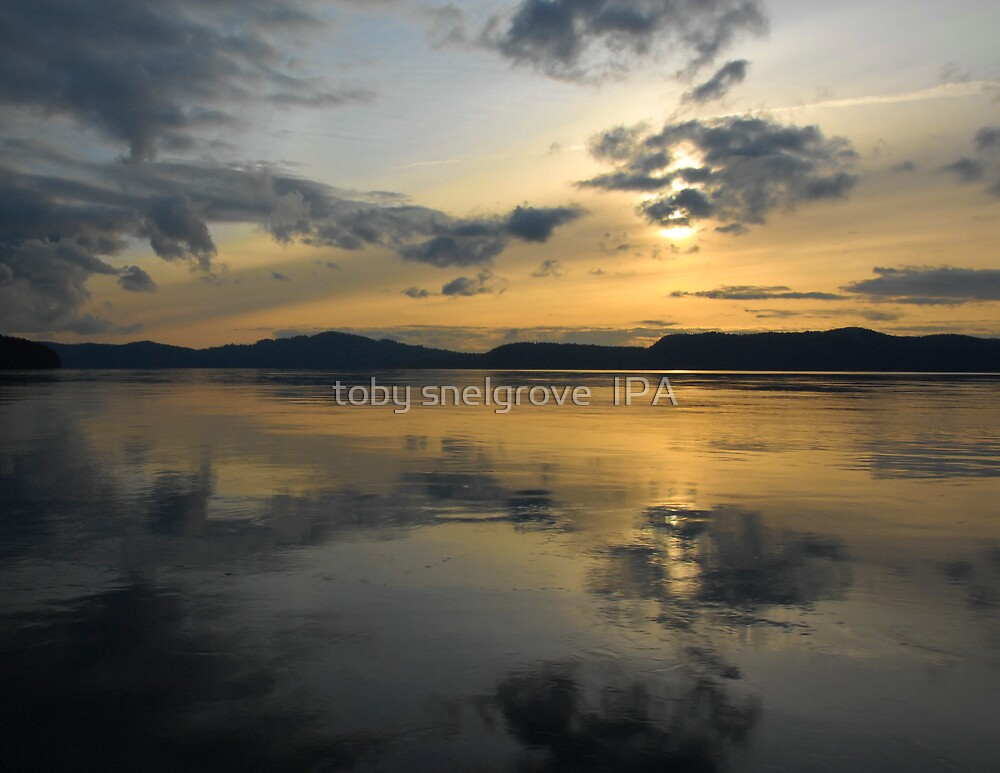 Sunset over Navy Channel by toby snelgrove  IPA
