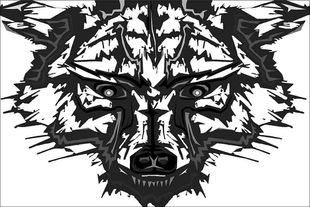 Burns Wolf by djzombie