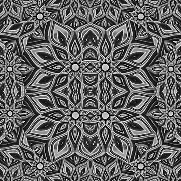 A line dress ~ Mandala by rsh1170