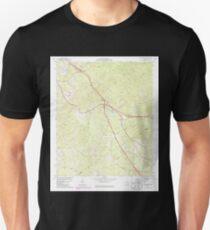 USGS TOPO Map Georgia GA Bolingbroke 245090 1974 24000 Unisex T-Shirt