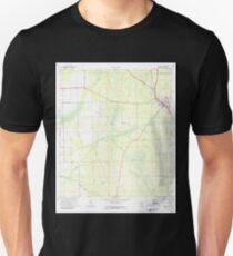 USGS TOPO Map Florida FL Bunnell 345363 1970 24000 Unisex T-Shirt
