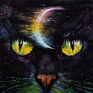 Moon Cat by Michael Creese