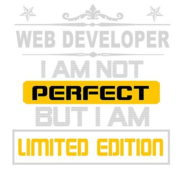 WEB DEVELOPER LIMITED EDITION by jonesl