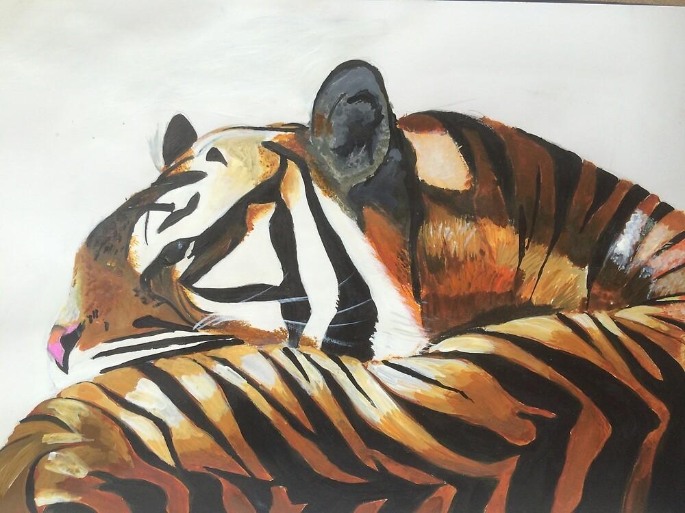 Tiger, Tiger by kayardia