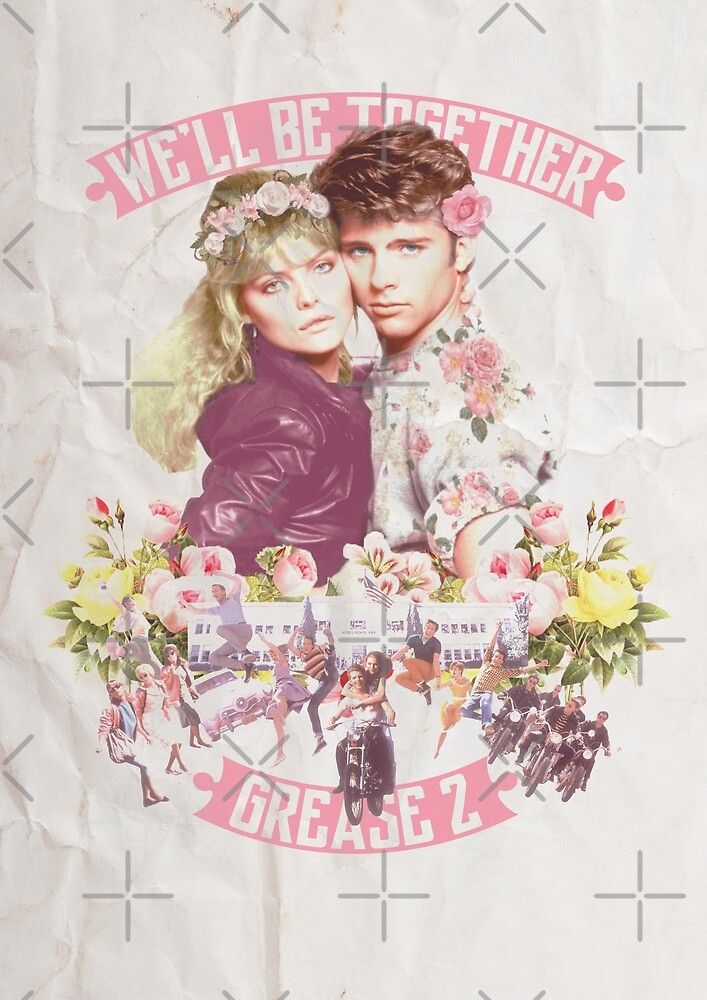 Grease 2 - Floral by thecleggosaurus