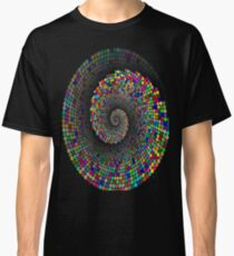 geometric, spiral, pattern Classic T-Shirt