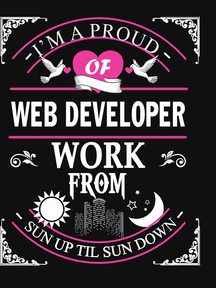 WEB DEVELOPER FROM SUN TO MOON by jonesl
