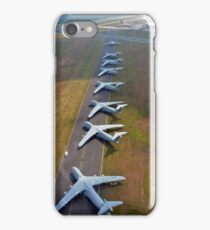 C-5 Galaxies align on the runway. iPhone Case/Skin