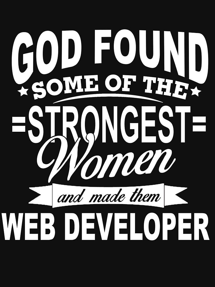 WEB DEVELOPER GOD FOUD by jonesl