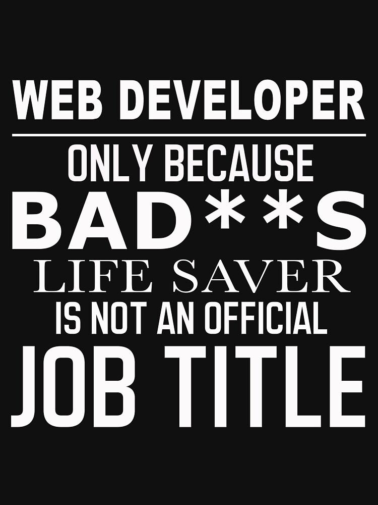 WEB DEVELOPER BAD ASS by jonesl