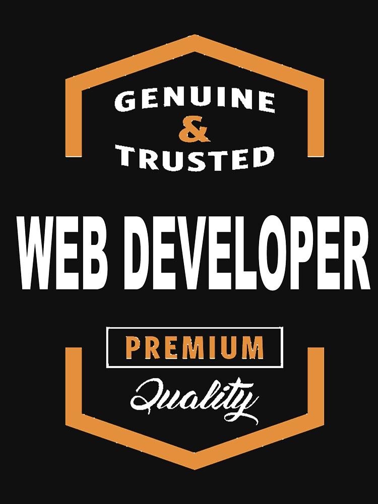 WEB DEVELOPER GENUINE by jonesl